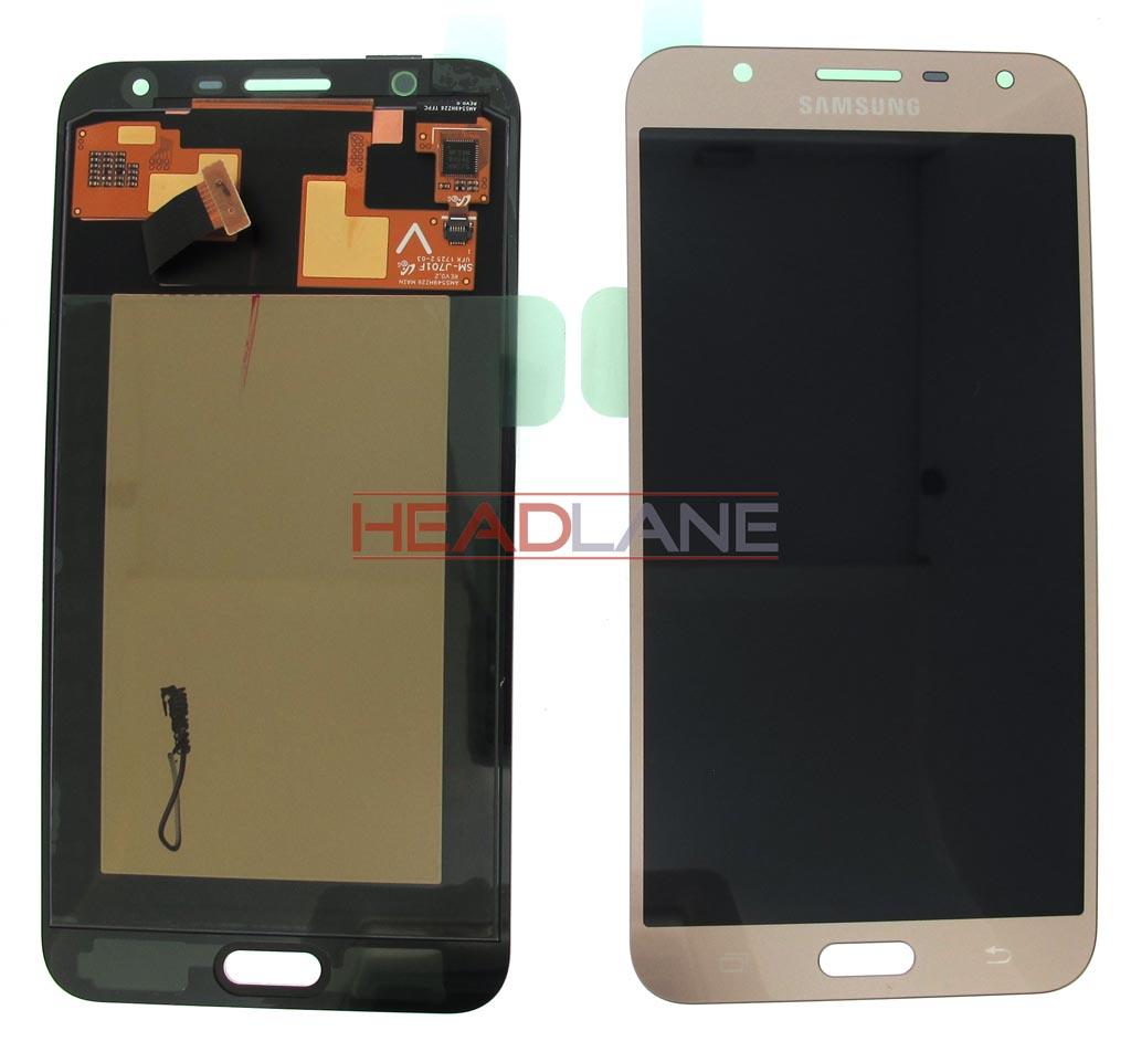 Samsung SM-J701 Galaxy J7 Nxt LCD Display / Screen + Touch - Gold