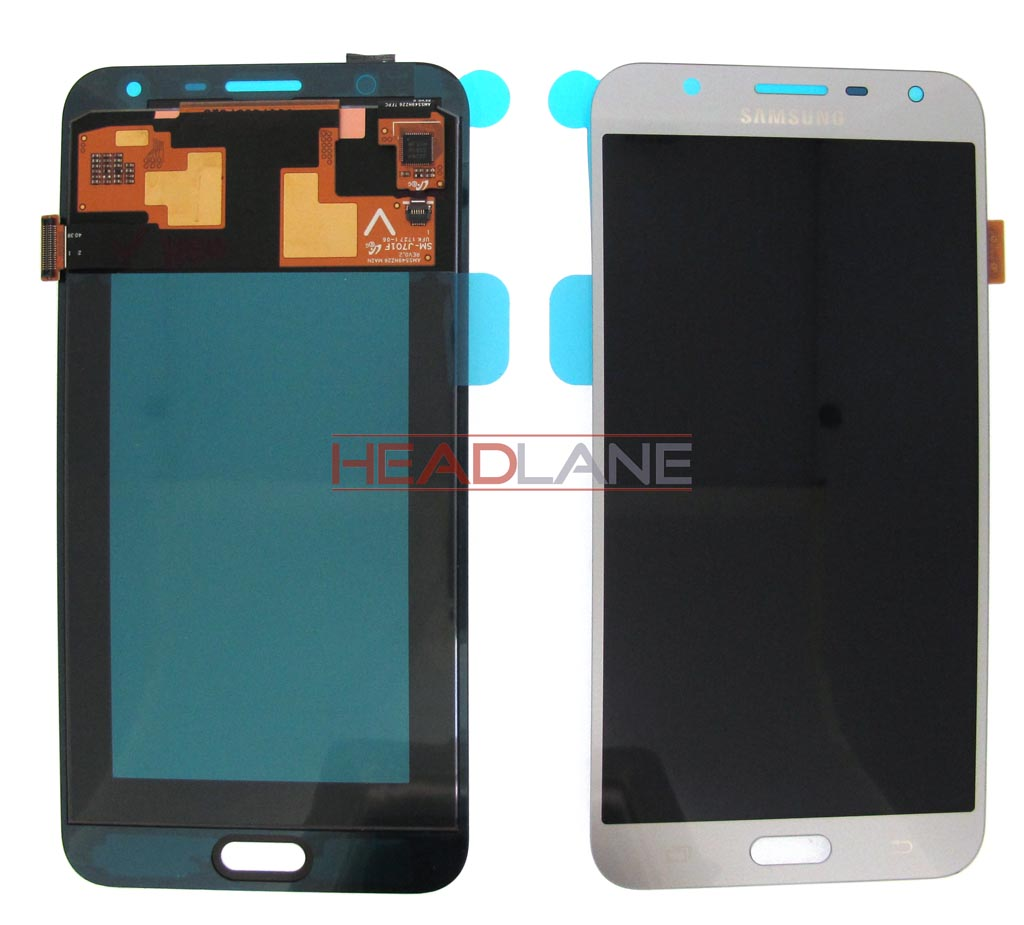 Samsung SM-J701 Galaxy J7 Nxt LCD Display / Screen + Touch - Silver