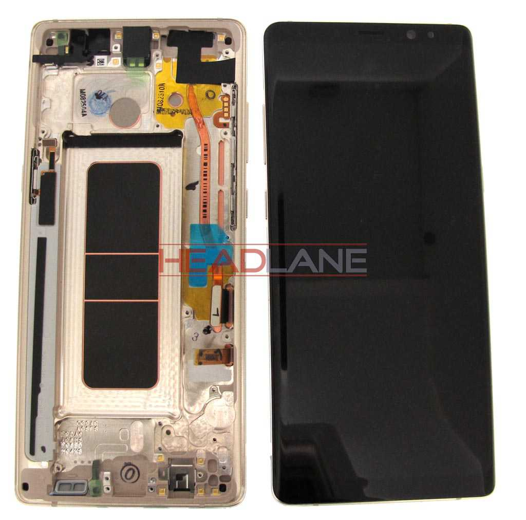 Samsung SM-N950 Galaxy Note 8 LCD Display / Screen + Touch - Gold