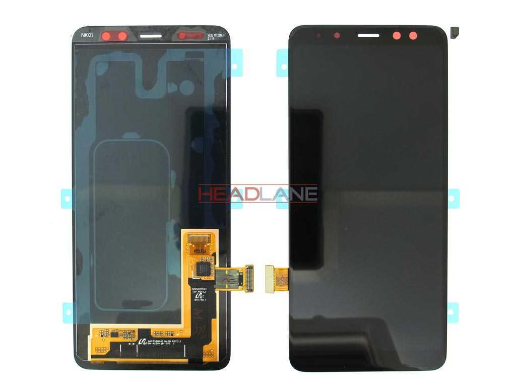 Samsung SM-A530 Galaxy A8 (2018) LCD Touch Black/Grey/Gold