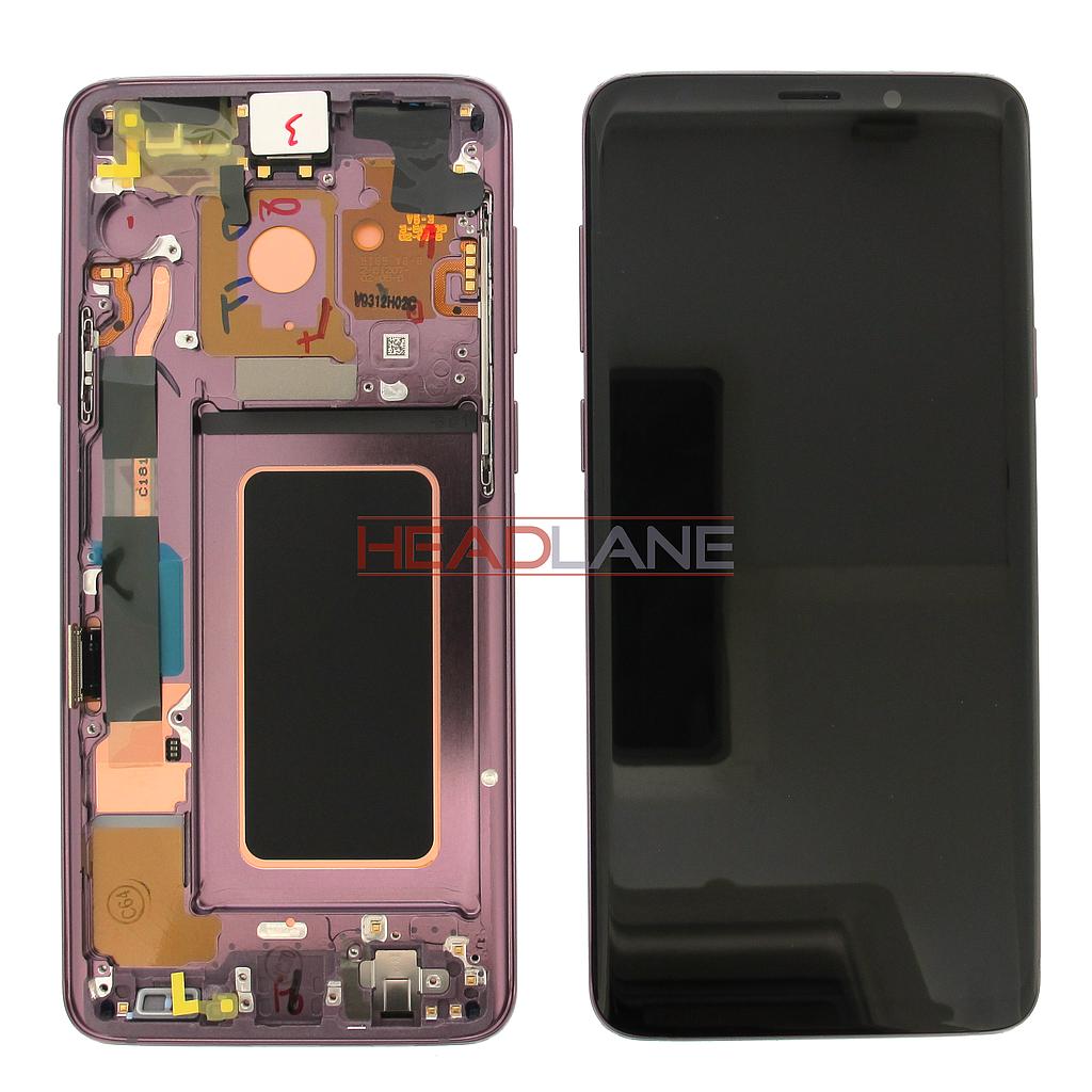 Samsung SM-G965F Galaxy S9+ LCD Display / Screen + Touch - Purple