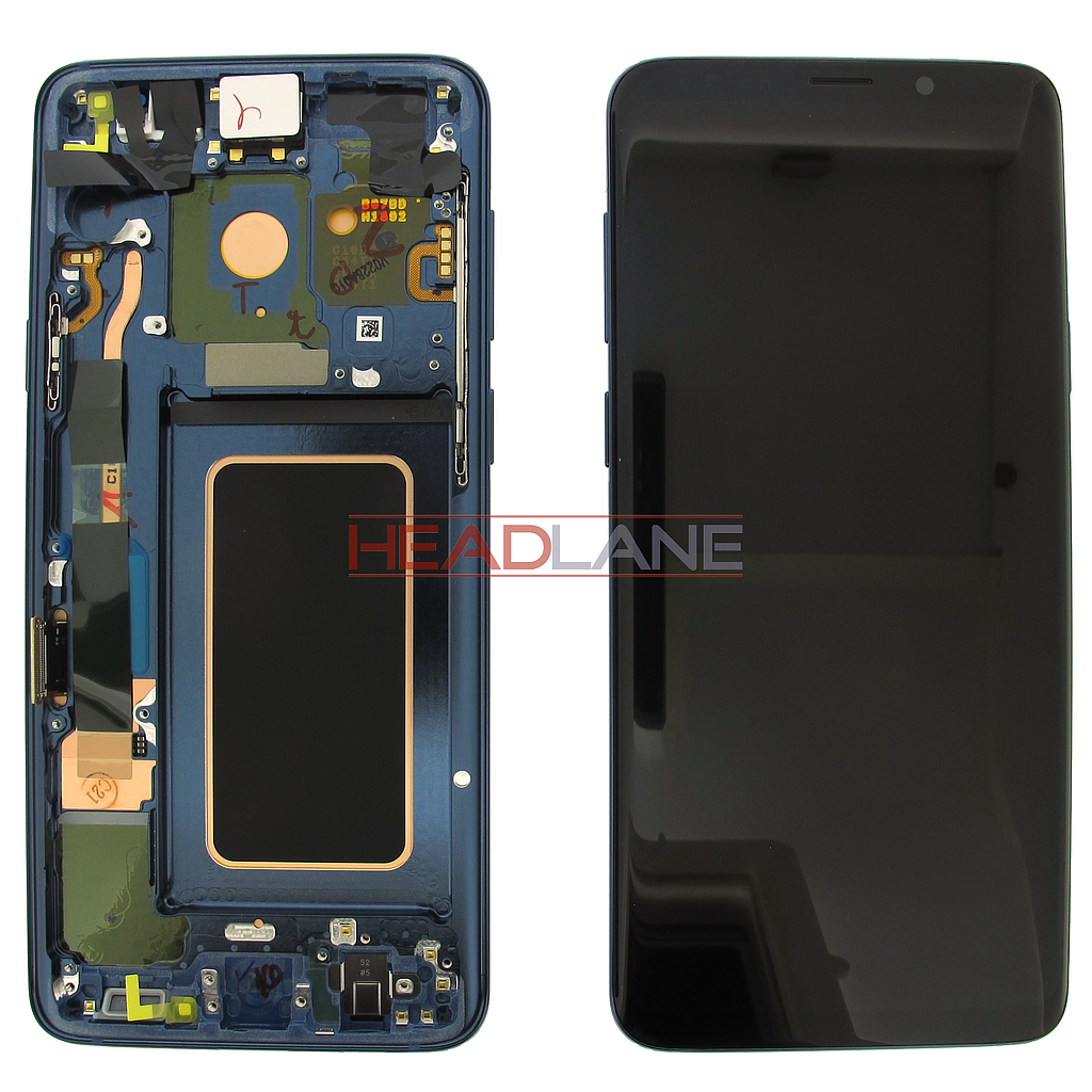 Samsung SM-G965F Galaxy S9+ LCD Display / Screen + Touch - Blue