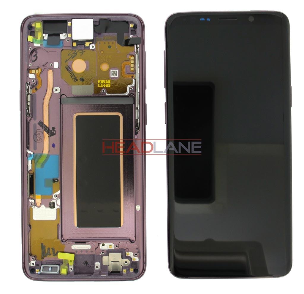 Samsung SM-G960F Galaxy S9 LCD Display / Screen + Touch - Purple