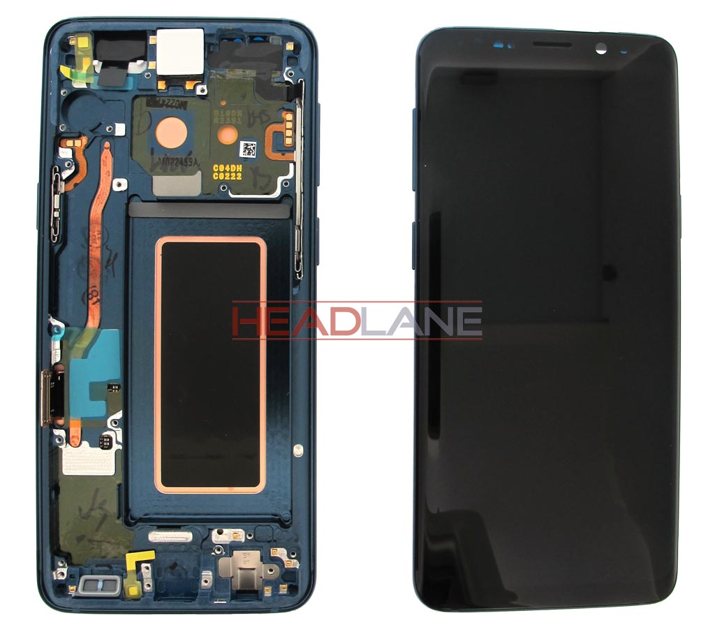 Samsung SM-G960F Galaxy S9 LCD Display / Screen + Touch - Blue