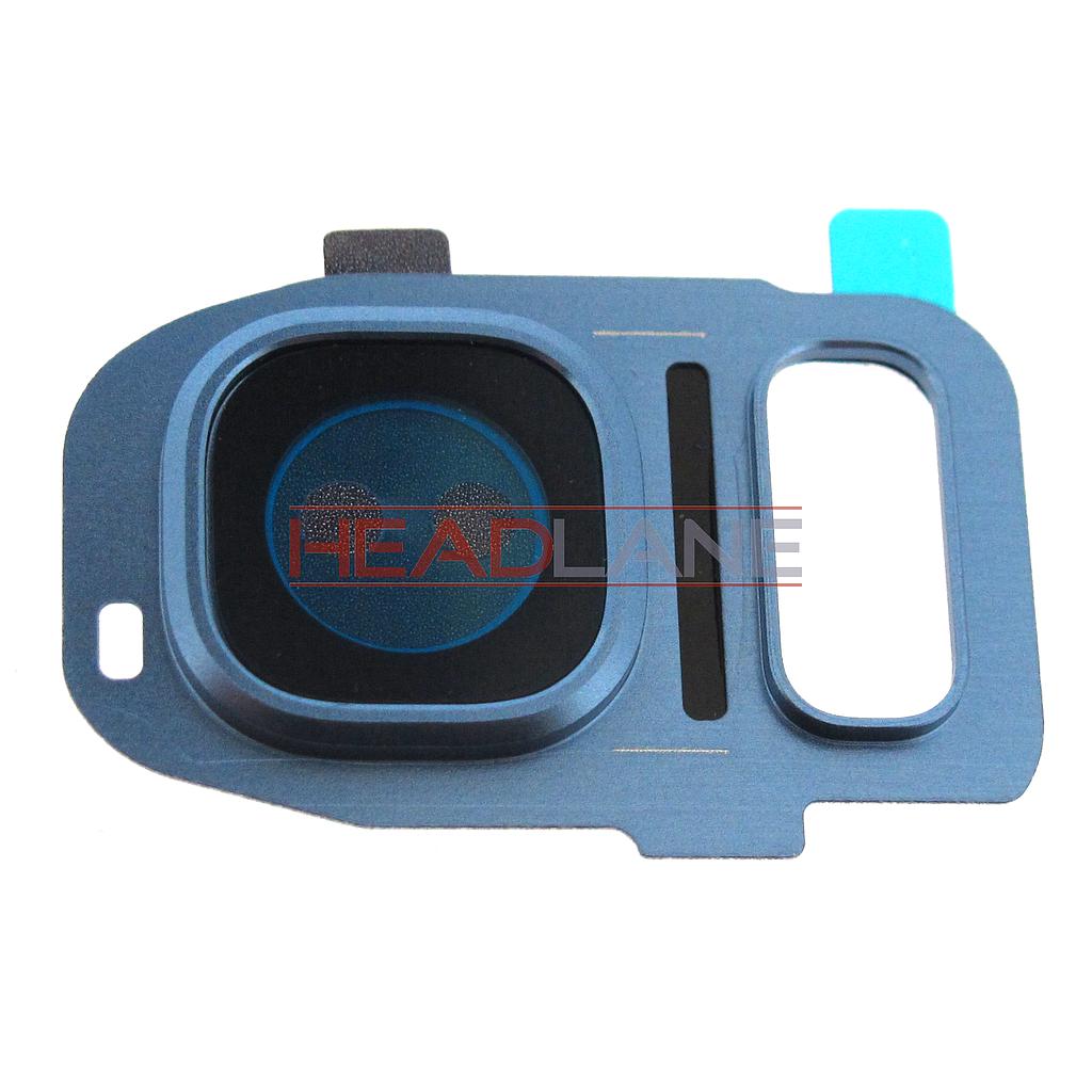 Samsung SM-G935 Galaxy S7 Edge Camera Cover - Blue