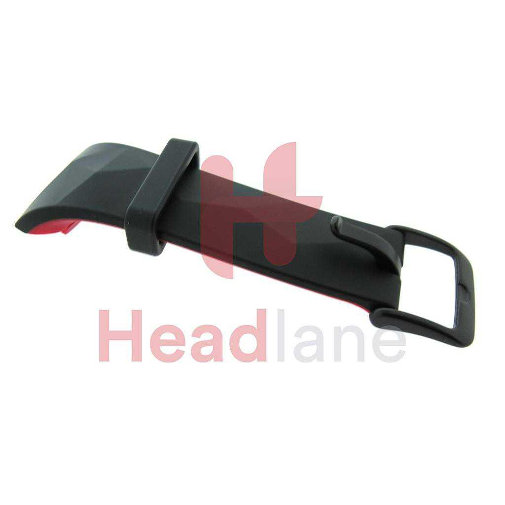 Samsung SM-R365 Galaxy Gear Fit2 Pro Buckle Strap Small - Black / Red