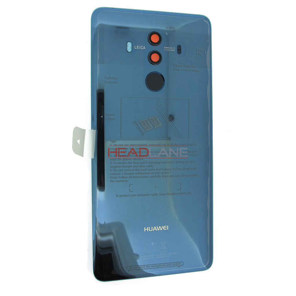 Huawei Mate 10 Pro Battery Cover - Blue