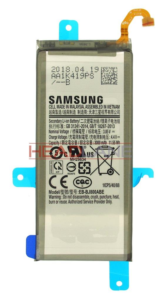 Samsung SM-J600 SM-A600 Galaxy J6 A6 (2018) EB-BJ800ABE 3000mAh Internal Battery