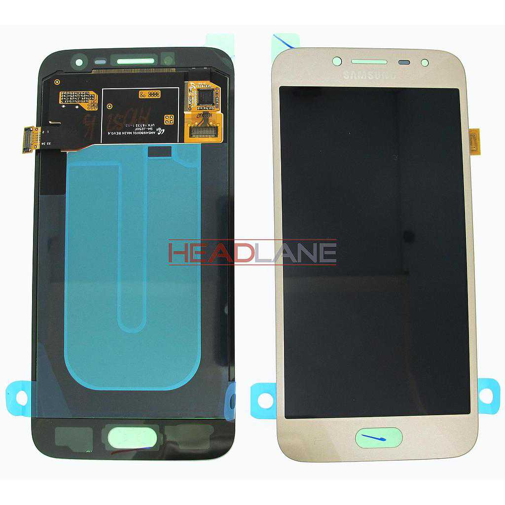 Samsung SM-J250 Galaxy J2 Pro (2018) LCD Display / Screen + Touch - Gold