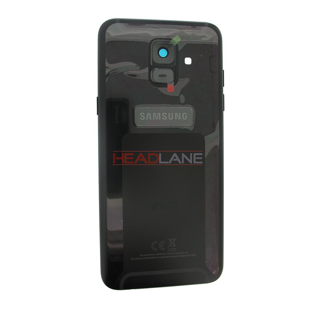 Samsung SM-A600 Galaxy A6 (2018) DUOS Battery Cover - Black