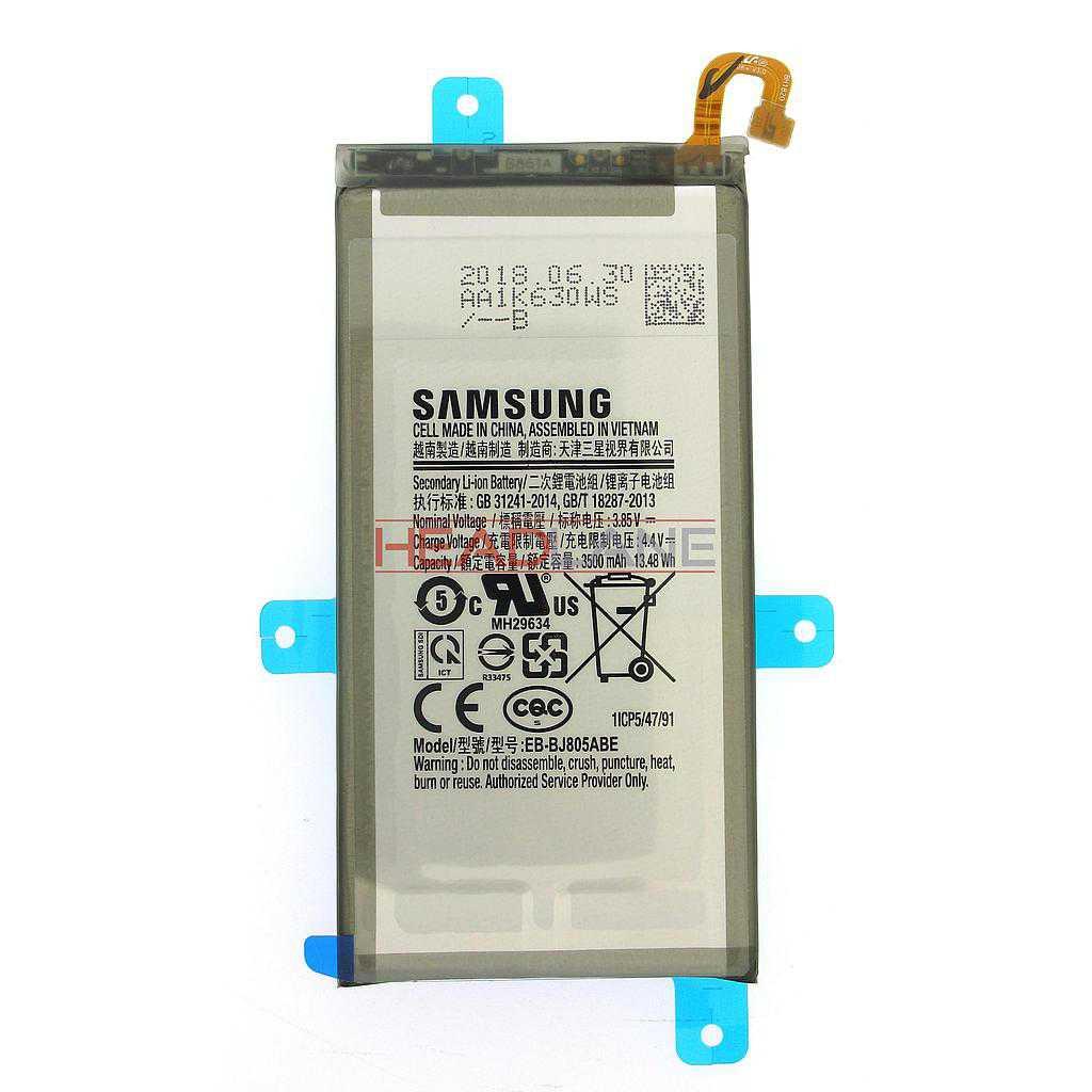 Samsung SM-A605 Galaxy A6+ (2018) EB-BJ805ABE Battery