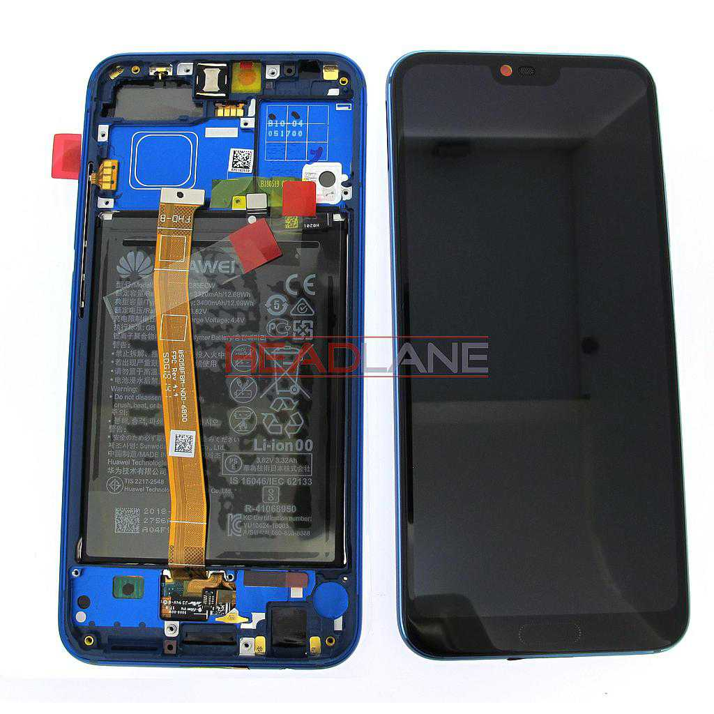 Huawei Honor 10 LCD Display / Screen + Touch + Battery Assembly - Blue