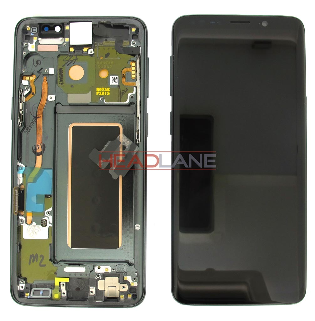 Samsung SM-G960F Galaxy S9 LCD Display / Screen + Touch - Grey