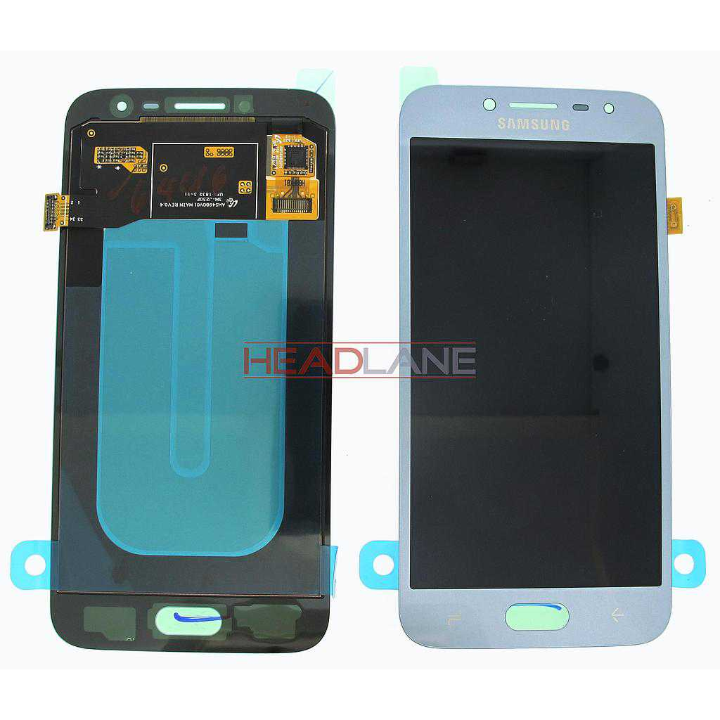 Samsung SM-J250 Galaxy J2 Pro (2018) LCD Display / Screen + Touch - Silver