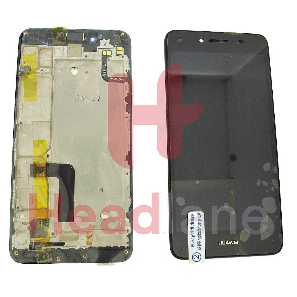 Huawei Y5-II LCD Display / Screen + Touch - Black