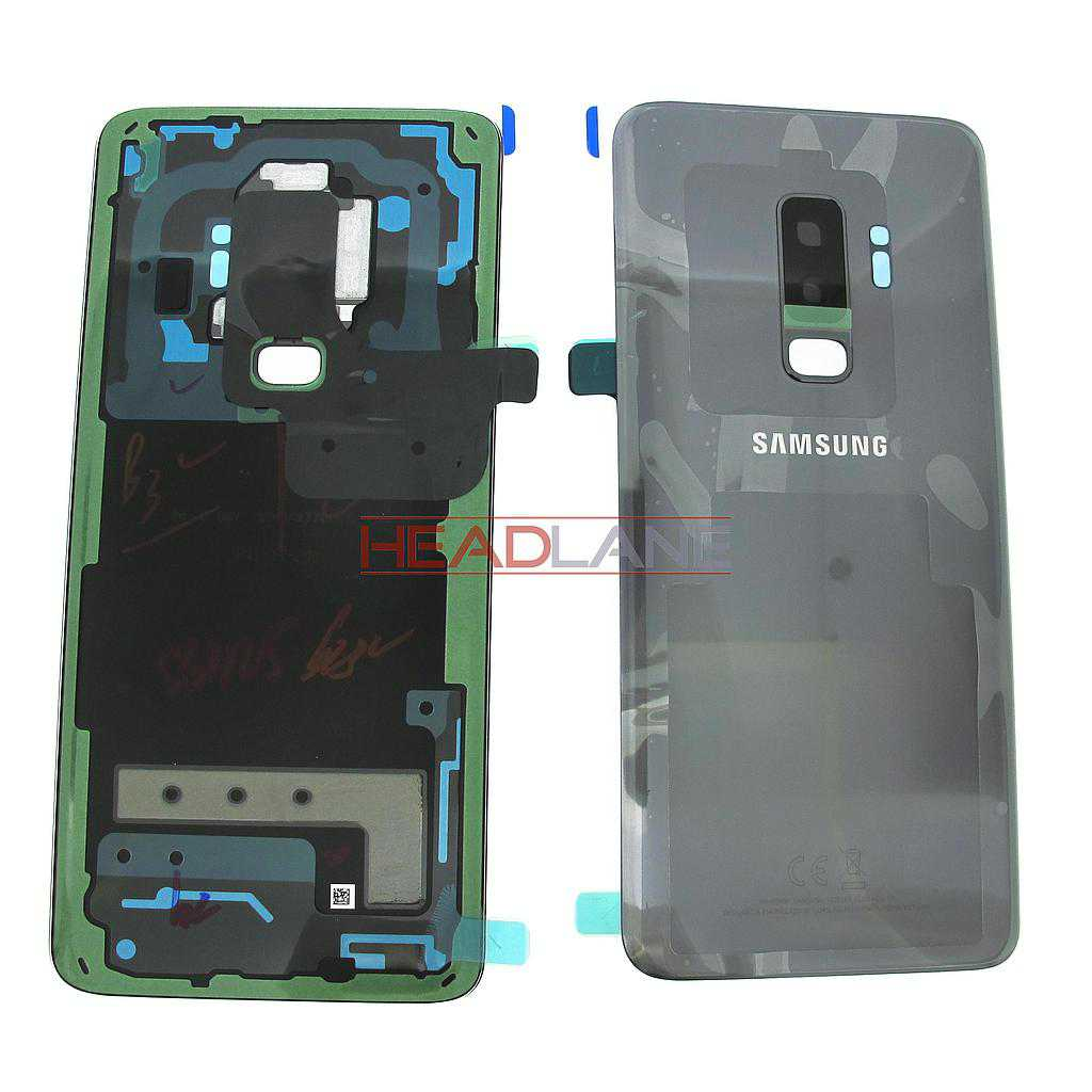 Samsung SM-G965F Galaxy S9+ Single SIM Battery Cover- Grey