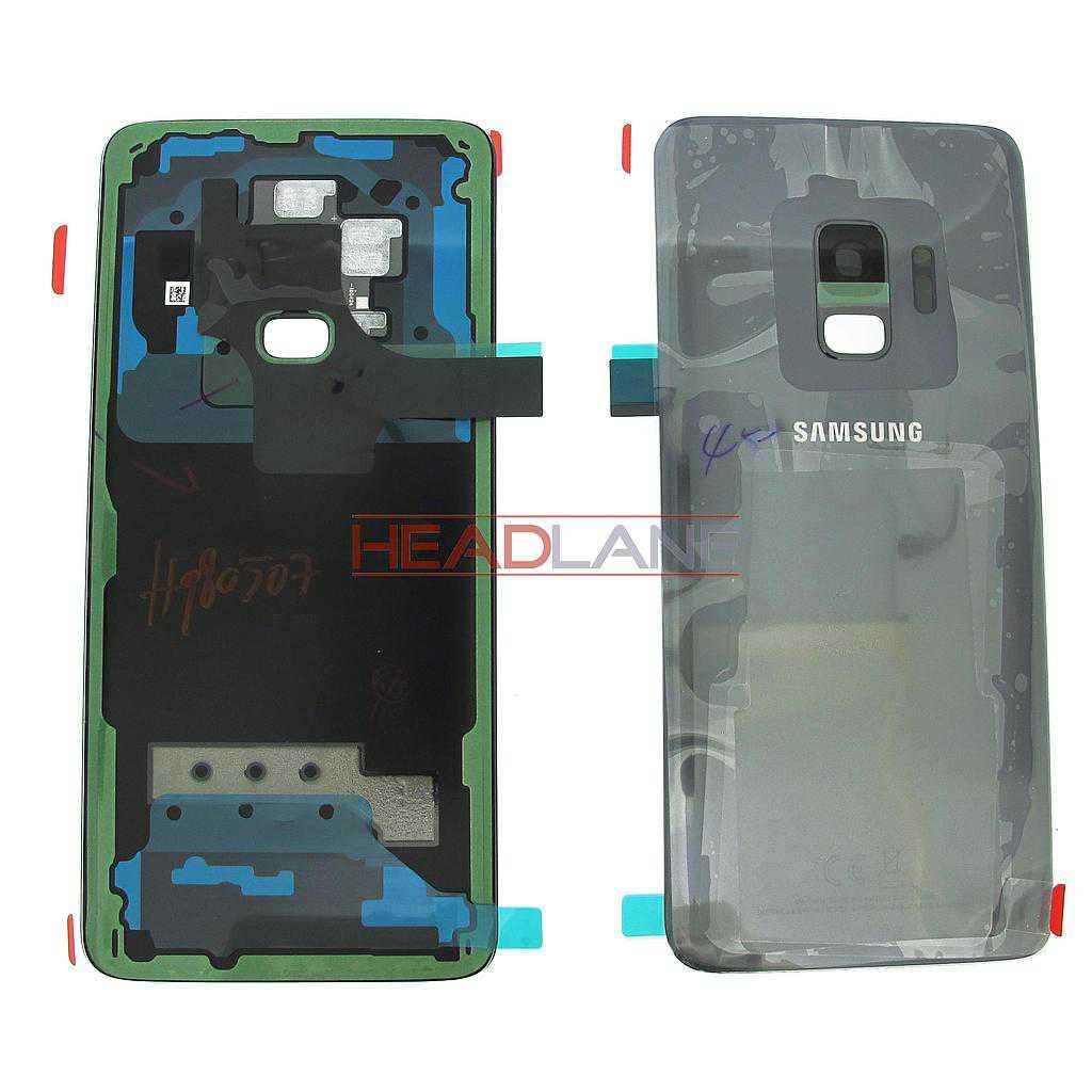 Samsung SM-G960F Galaxy S9 Single SIM Battery Cover - Grey
