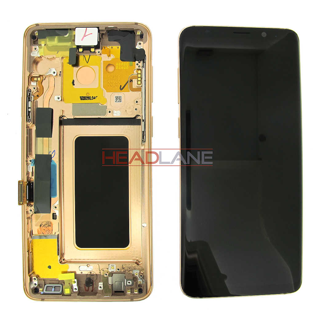 Samsung SM-G965F Galaxy S9+ LCD Display / Screen + Touch - Gold