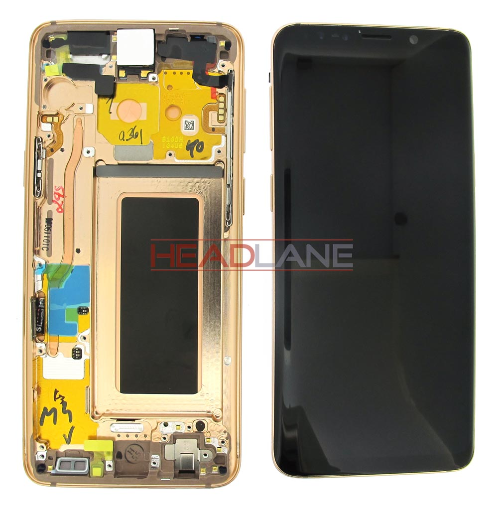 Samsung SM-G960F Galaxy S9 LCD Display / Screen + Touch - Gold
