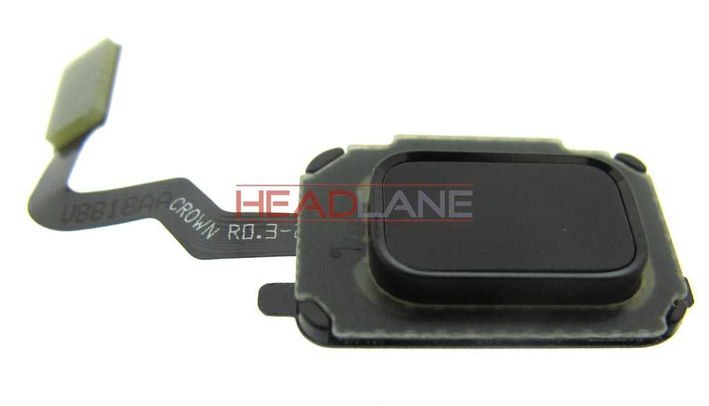 Samsung SM-N960 Galaxy Note 9 Home Button - Black
