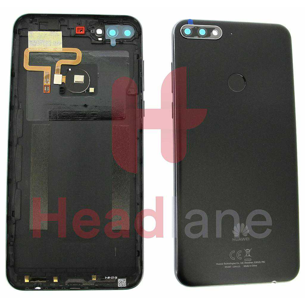 Huawei Y7 (2018) Back / Battery Cover - Black