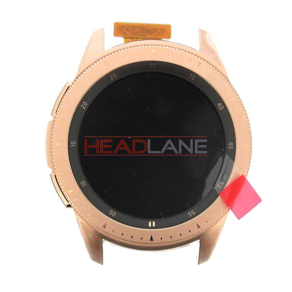 Samsung SM-R810 Galaxy Watch (42mm) LCD Display / Screen + Touch - Rose Gold