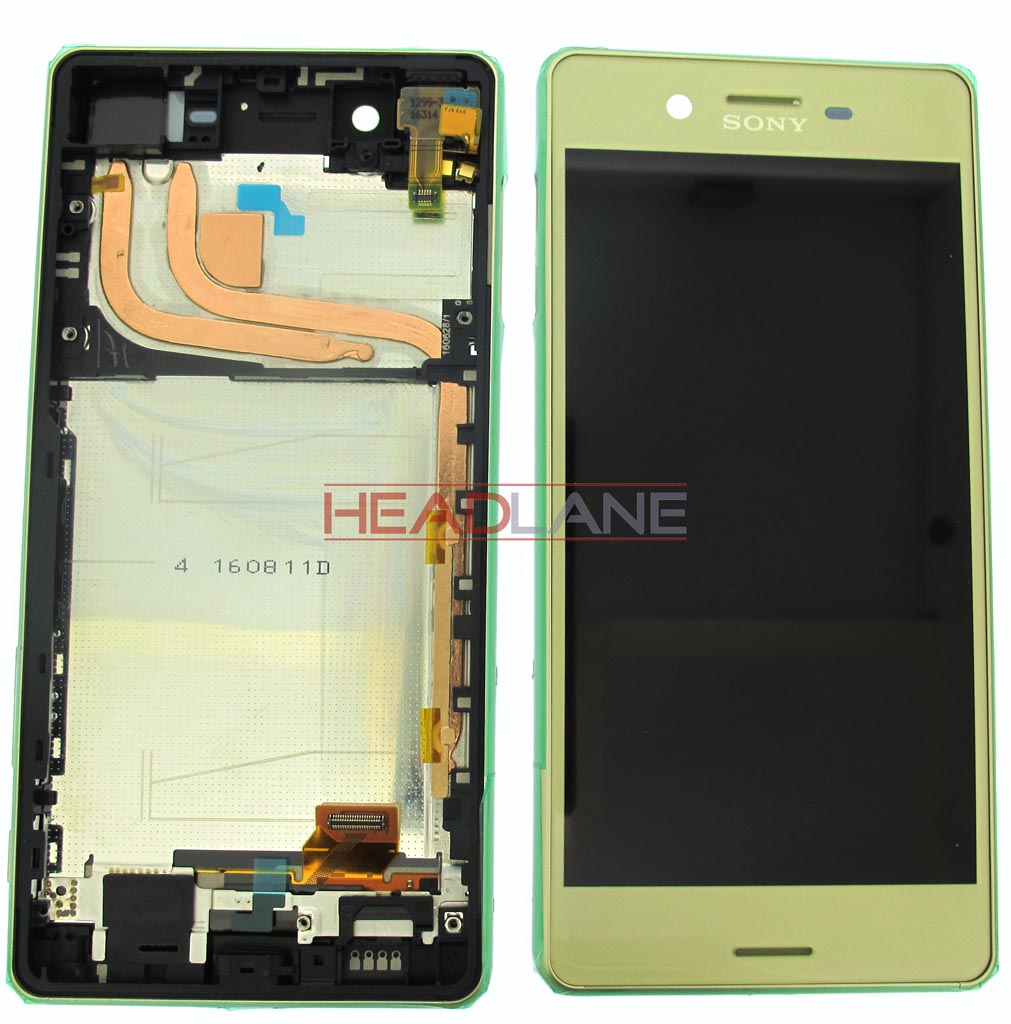 Sony F8131 F8132 Xperia X Performance LCD Display / Screen + Touch - Lime