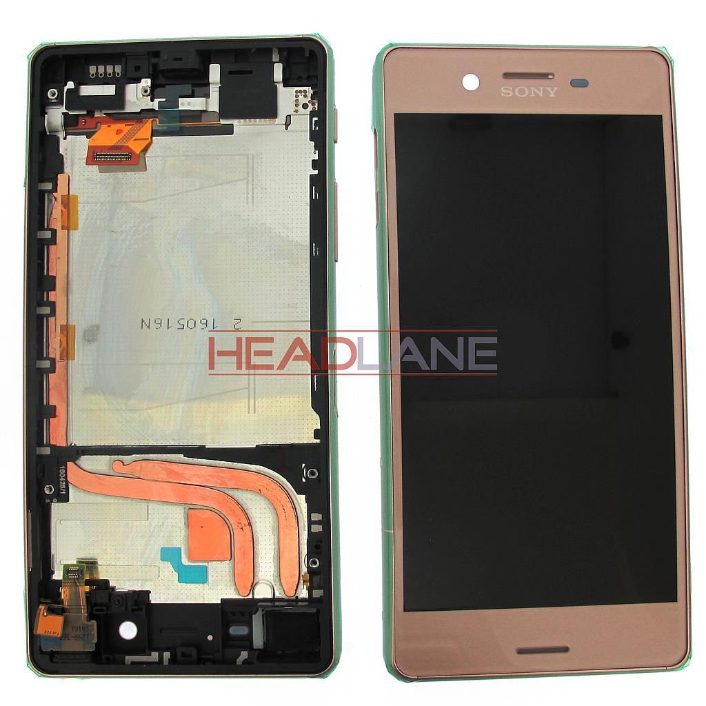 Sony F8131 F8132 Xperia X Performance LCD Display / Screen + Touch - Rose