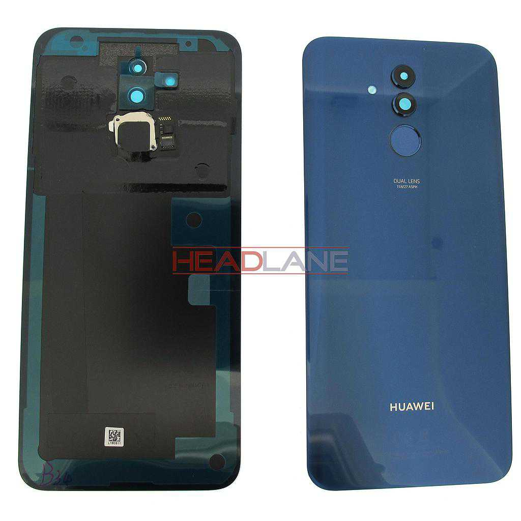 Huawei Mate 20 Lite Battery / Back Cover + Fingerprint Sensor / Reader - Blue