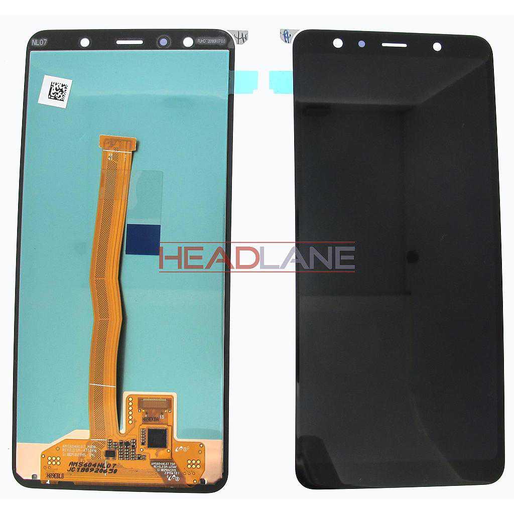 Samsung SM-A750 Galaxy A7 (2018) LCD Display / Screen + Touch - Blue / Black / Gold