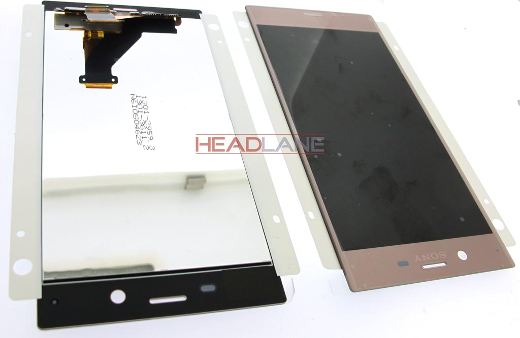 Sony F8331 F8332 Xperia XZ LCD Display / Screen + Touch - Pink