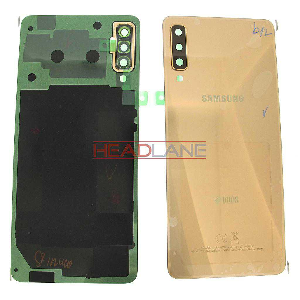 Samsung SM-A750 Galaxy A7 (2018) DUOS Back / Battery Cover - Gold