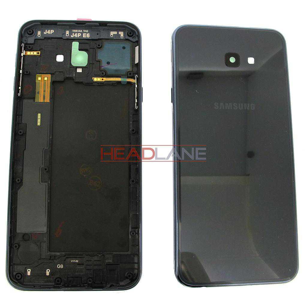 Samsung SM-J415 Galaxy J4+ (2018) Battery / Back Cover - Black