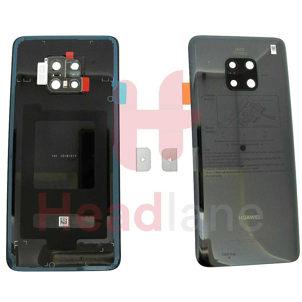 Huawei Mate 20 Pro Back / Battery Cover - Black