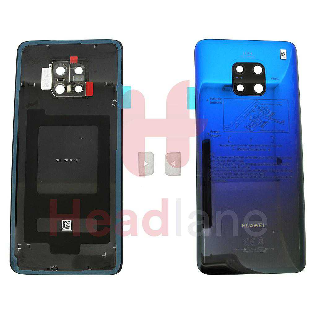 Huawei Mate 20 Pro Back / Battery Cover - Twilight