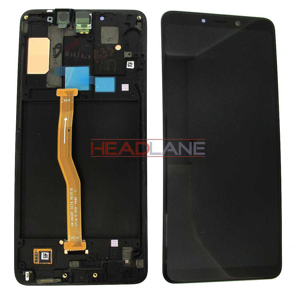 Samsung SM-A920 Galaxy A9 (2018) LCD Display / Screen + Touch - Black / Blue / Pink