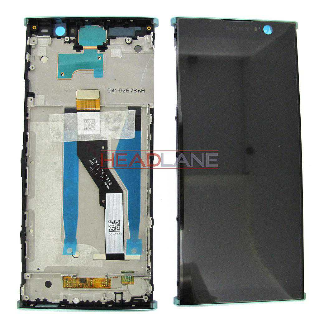 Sony H3413 H4493 Xperia XA2 Plus LCD Display / Screen + Touch / Digitizer - Green