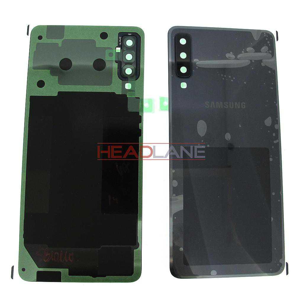 Samsung SM-A750 Galaxy A7 (2018) Battery / Back Cover - Black