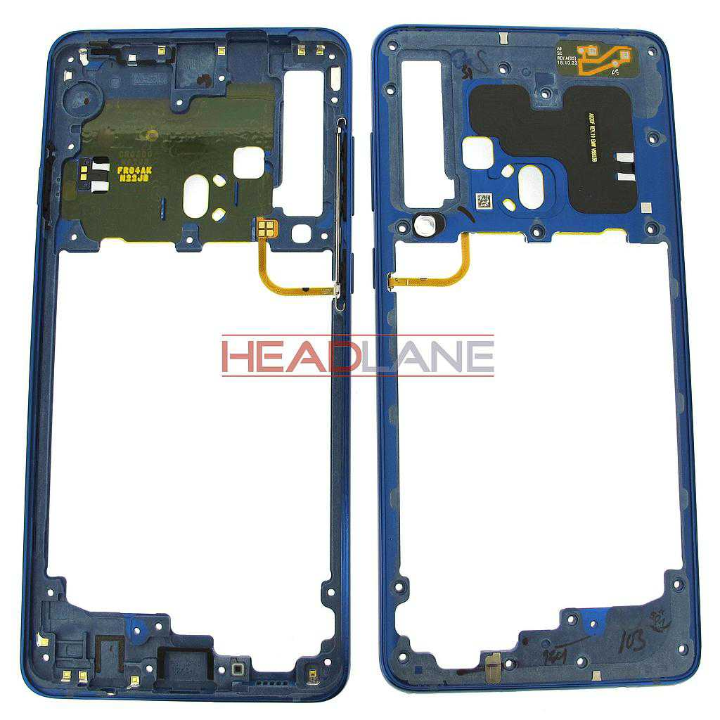 Samsung SM-A920 Galaxy A9 (2018) Middle Cover / Chassis - Blue
