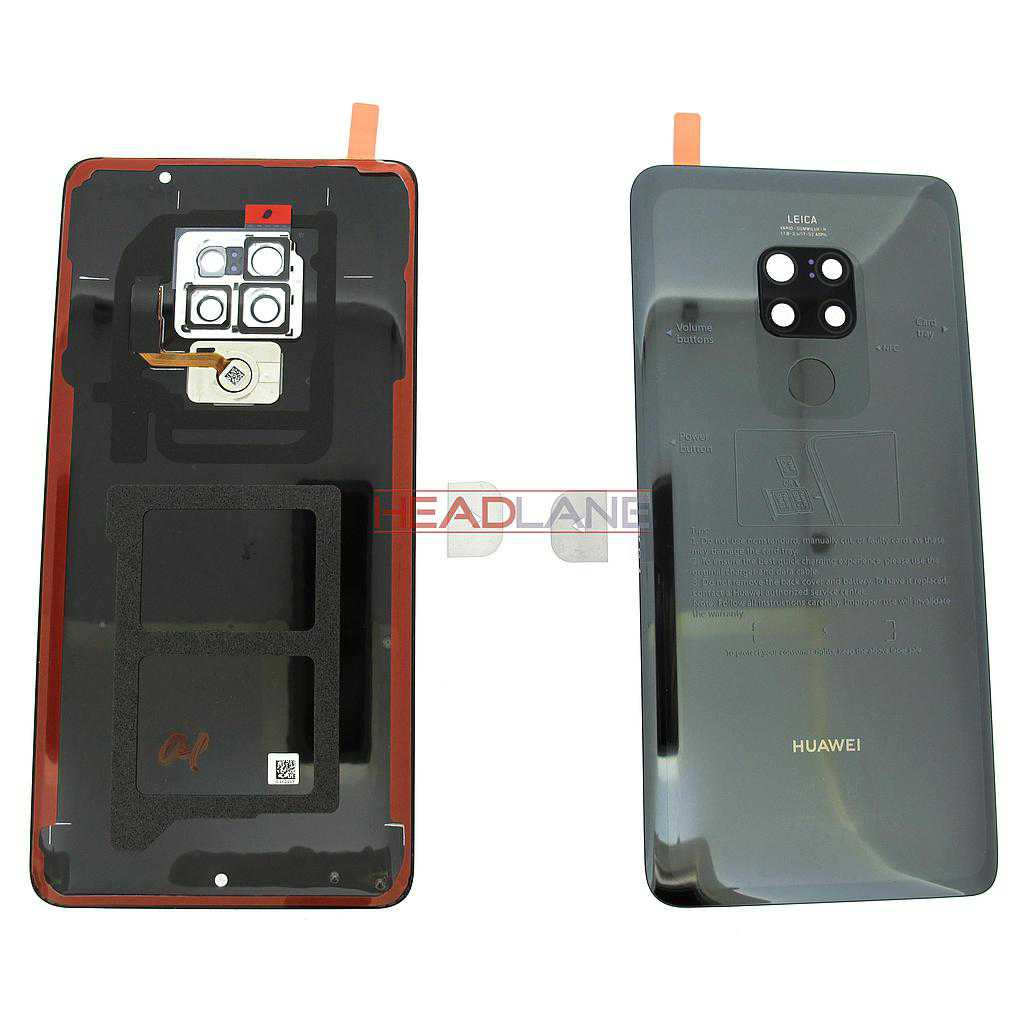 Huawei Mate 20 Back / Battery Cover - Black