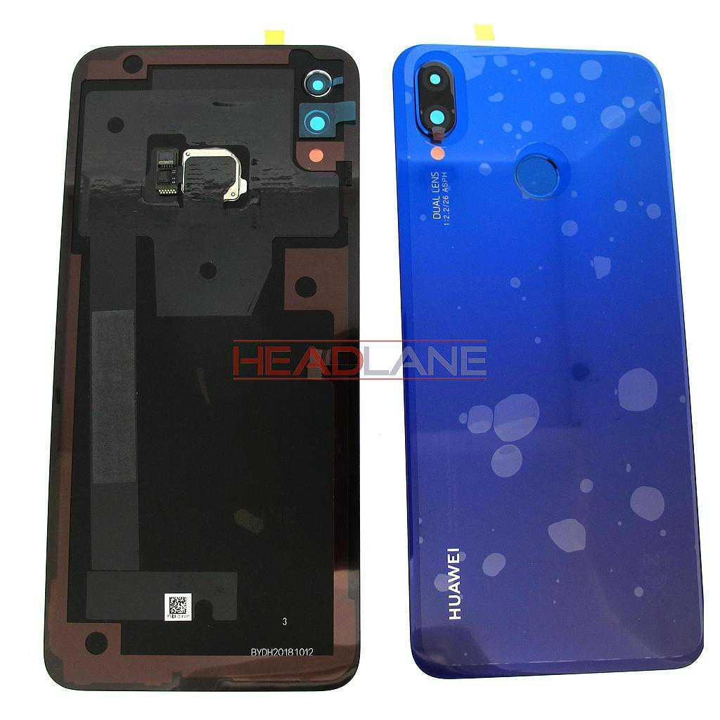 Huawei P Smart+ / P Smart Plus Back / Battery Cover - Purple