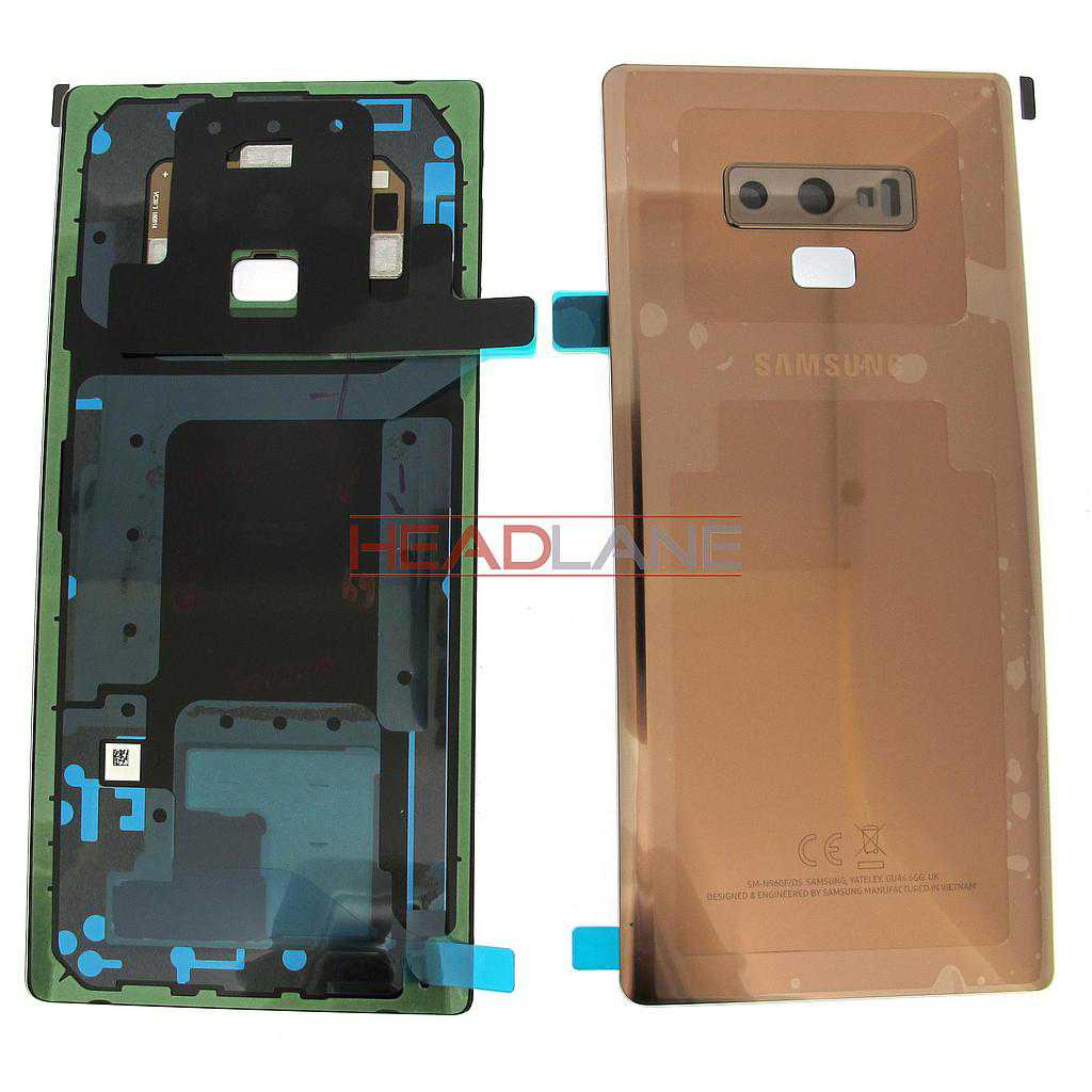 Samsung SM-N960 Galaxy Note 9 Battery Cover - Gold