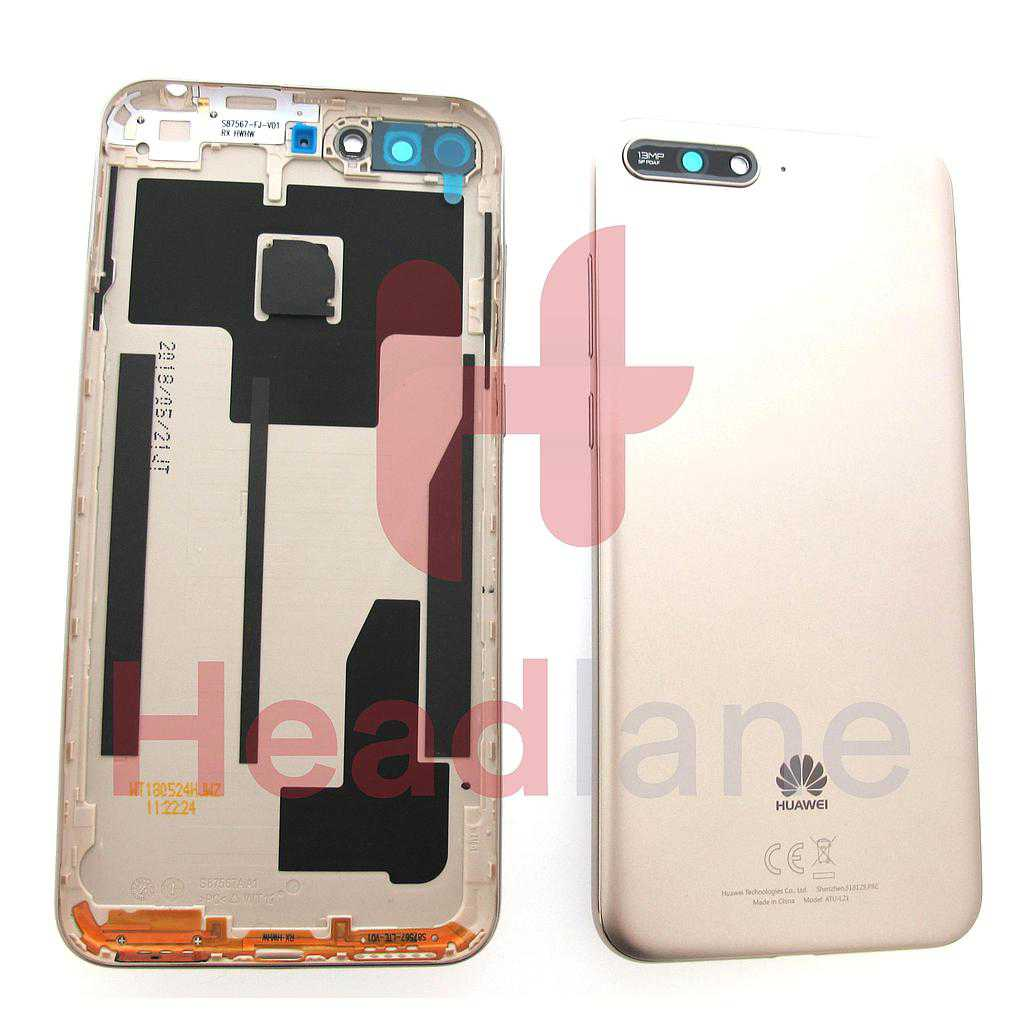 Huawei Y6 (2018) Battery / Back Cover - Gold