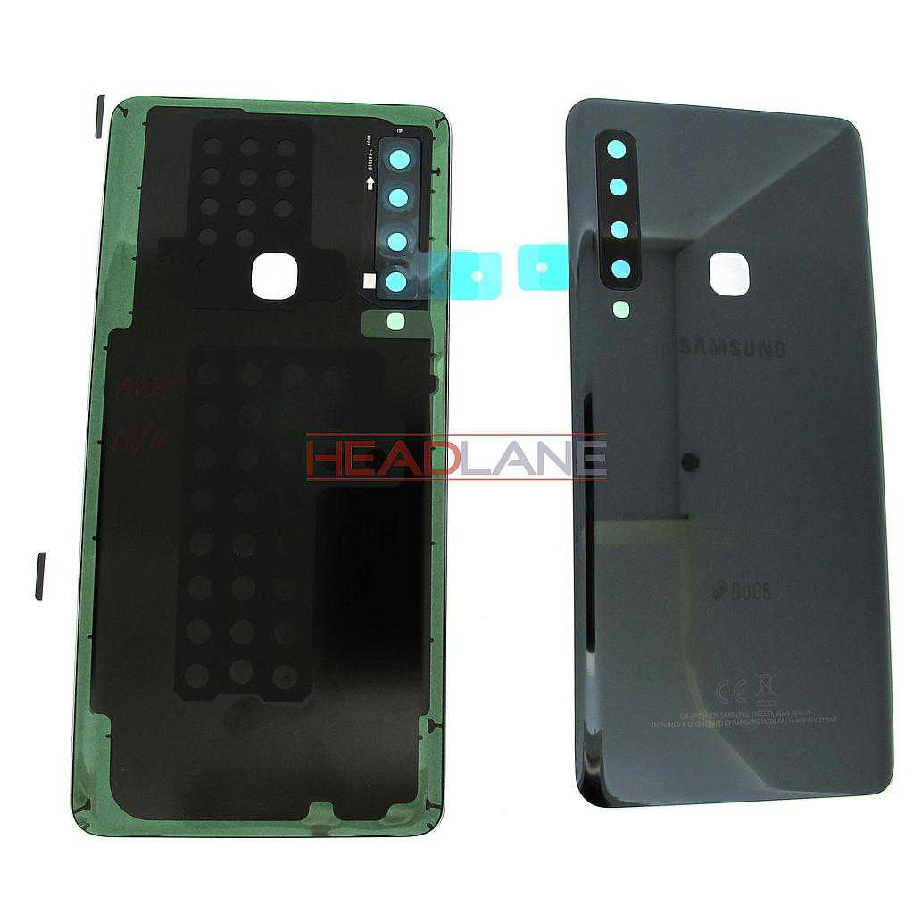 Samsung SM-A920 Galaxy A9 (2018) DUOS Back / Battery Cover - Black