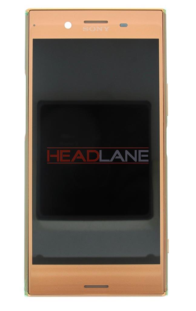 Sony G8142 Xperia XZ Premium (Dual SIM) LCD Display / Screen + Touch - Pink