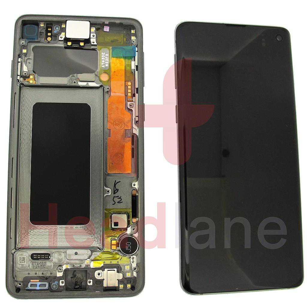 Samsung SM-G973 Galaxy S10 LCD Display / Screen + Touch - Prism Black