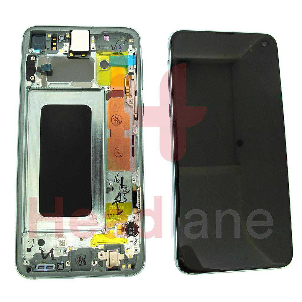 Samsung SM-G970 Galaxy S10E LCD Display / Screen + Touch - Prism Green
