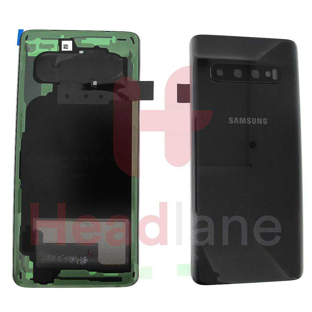 Samsung SM-G973 Galaxy S10 Back / Battery Cover - Prism Black