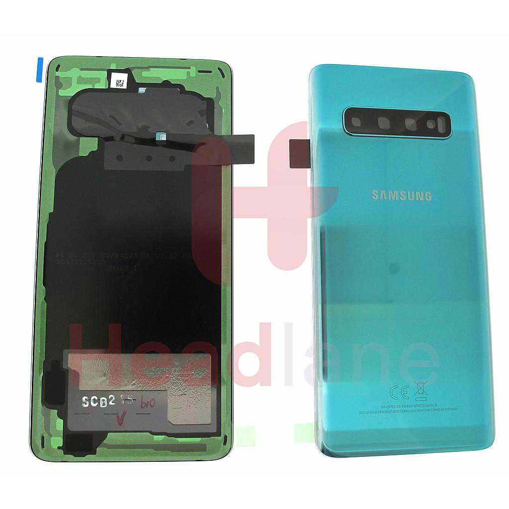 Samsung SM-G973 Galaxy S10 Back / Battery Cover - Prism Green