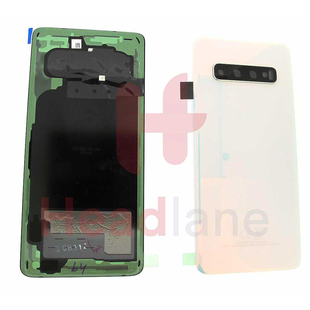 Samsung SM-G973 Galaxy S10 Back / Battery Cover - Prism White